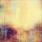 Abstract grunge background or old texture. With different color patterns: yellow; purple (violet); brown; blue; beige