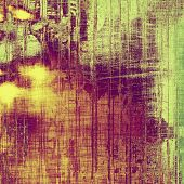 Old texture with delicate abstract pattern as grunge background. With different color patterns: yellow; purple (violet); green; orange
