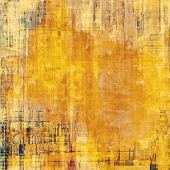 Abstract textured background designed in grunge style. With different color patterns: yellow; brown; orange; beige