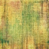 Designed grunge texture or background. With different color patterns: yellow; brown; green; beige