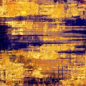 Old abstract grunge background for creative designed textures. With different color patterns: yellow; brown; orange; blue; violet