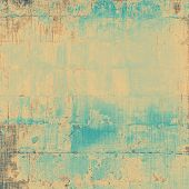 Abstract distressed grunge background. With different color patterns: gray; blue; brown; yellow
