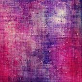 Textured old pattern as background. With different color patterns: purple (violet); red; blue; pink