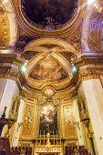 Dome Saint Michael's Basilica Pontifica De San Miguel Madrid Spain