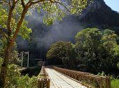 Bridge Near Machu Picchu