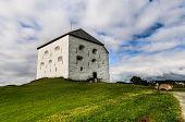 Medieval Kristiansten Fortress in Trondheim, Norway