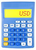 Calculator With Usd On Display