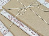 Gifts Wrapped In Retro Paper