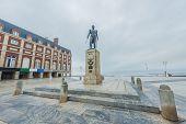 Almirante Brown Square In Mar Del Plata, Argentina
