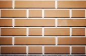 Background Texture Of Decorative Brick Wall