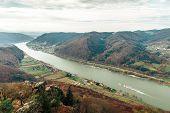 Beautiful Landscape With Danube River