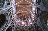 Interiors of Saint Bavon cathedral, Ghent, Belgium