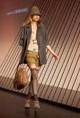 Melbourne, Australia - March 18: A Model Showcases Designs By Gorman In The 2010 L'oreal Melbourne F