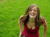 Laughing in Grass