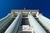 Architectural classic columns
