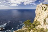 Cliff Of Cap De Formentor
