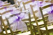 Outside Seating For Wedding Guests