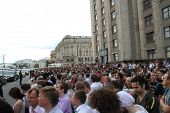 The Protest Rally On Manezh Square In Support Of Alexei Navalny