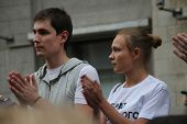 Unknown Opposition To Action In Support Of Alexei Navalny