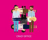 Crazy office
