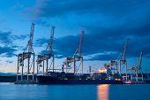 industriële haven van Koper