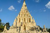 Wat Chedi Liam Or Wat Ku Kham In Chiang Mai, Thailand