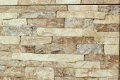 Stone Brown At Background Texture
