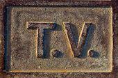 T.v Sign