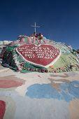 Salvation Mountain Outsider Art Installation