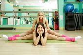 pic of do splits  - Gym - JPG