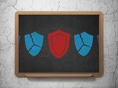 foto of shield  - Security concept - JPG