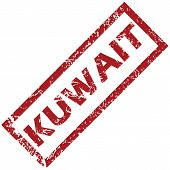 picture of kuwait  - New Kuwait grunge rubber stamp on a white background - JPG