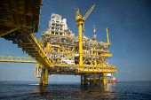 image of offshore  - Offshore oil and gas production and exploration business - JPG