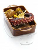 image of batata  - grilled octopus with potatoes - JPG
