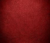 picture of auburn  - Auburn leather texture background - JPG