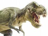stock photo of pacific rim  - Isolated dinosaur and monster model in white background - JPG
