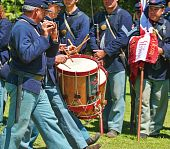 Union Army Musicians - Civil War
