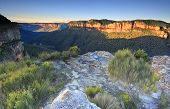 ������, ������: Sunlit Walls At Walls Lookout Blue Mountains