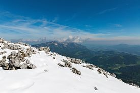 foto of bavaria  - landscape with mountains Eagle - JPG