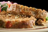 Meatloaf And Vegetables