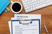 Resume Applying For Jobs poster