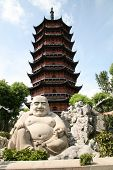Smiling Buddha In Suzhou