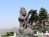 Statue At Lantau Island, Hong Kong