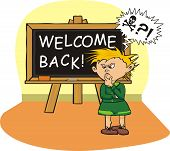 welcome back ( in school)