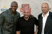 CULVER CITY, CA - JUNE 5: Terry Crews, Jay Glazer & Randy Couture arrive at the 4th annual Spike TV'