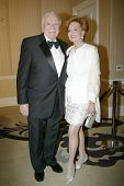 BEVERLY HILLS - FEB. 27: Ernest Borgnine & wife Tova Borgnine arrive at the 21st Annual Night of 100