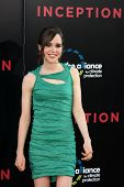 LOS ANGELES - JUL 13:  Ellen Page arrive at the Inception Premiere at Grauman's Chinese Theater on J