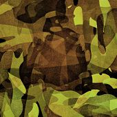Military texture (brown, black, marsh, green colors)