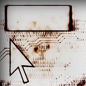 Computer Arrow And Screen