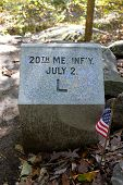 20th maine infantry marker